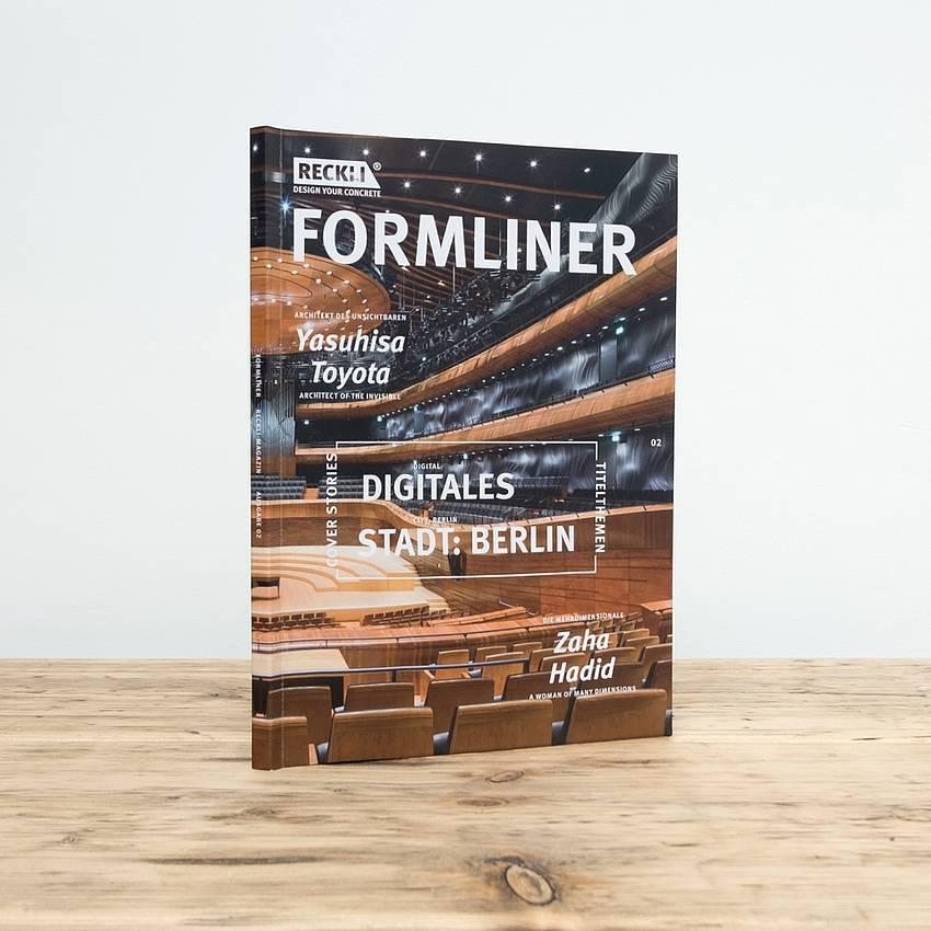 Second edition of the RECKLI FORMLINER magazine   RECKLI - Design